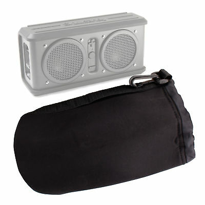 Large Padded Black Pouch for Skullcandy Air Raid Bluetooth Speaker