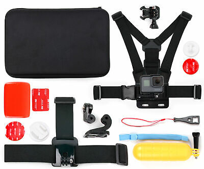 Action Camera 14-in-1 Accessories Bundle W/ Case for GoPro HERO 5 Black |Session