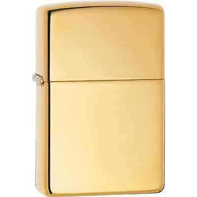 Zippo 169, Armor, High Polish Brass Finish Lighter, Pipe Insert (PL)