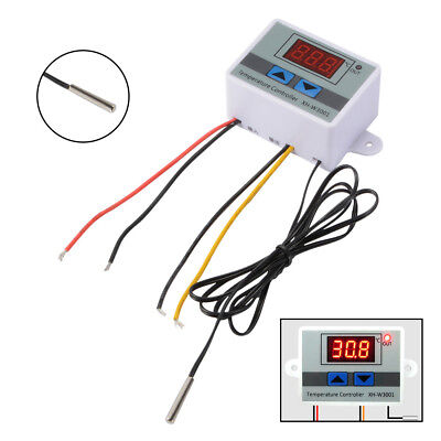 12V Digital LED 10A Temperature Thermometer Thermo Control Switch Probe TE846