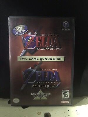 Gamecube - The Legend of Zelda - Ocarina of Time & Master Quest Rare!!! L@@k