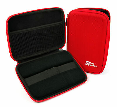 Red Shell Hard EVA Cover Case for WD Elements 1TB & 2TB External Hard Drives