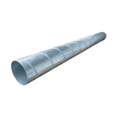 Spiral Ducts, Zinc Plated 400 mm/ 1 M Long