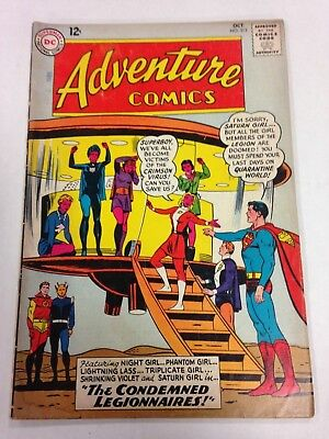 Adventure Comics #313 October 1963 Legionnaires Superman Superboy