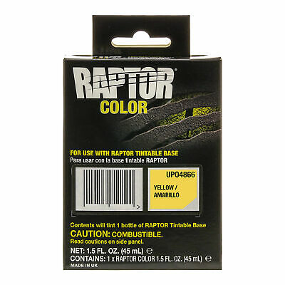 Raptor Color Tint Pouches - Yellow