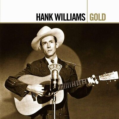 Hank Williams GOLD Best Of 42 Essential Songs GREATEST HITS New Sealed 2 CD
