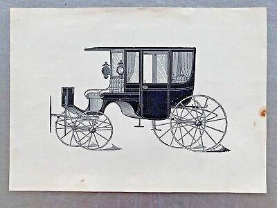 Engravings Carriages In Black & White