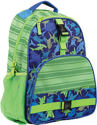 Stephen Joseph All Over Print Backpack, Shark