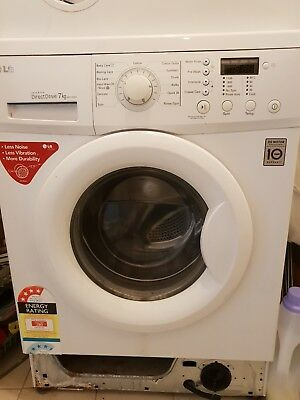 LG Direct Drive 7kg Front Load Washer