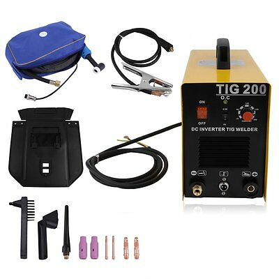 200 200A Tig Mma Pulse Dc Inverter Welding Machine Stainless Aluminum Welder Sk