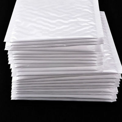 50/100Pcs Wholesale Poly Bubble Mailers Padded Envelopes Shipping Bags Self Seal