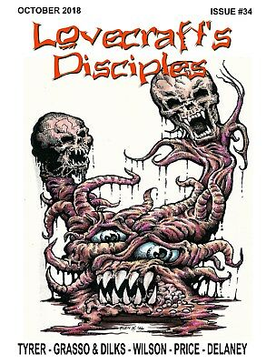 297 - LOVECRAFT'S DISCIPLES #34 - H. P. Lovecraft Cthulhu Mythos inspired tales.