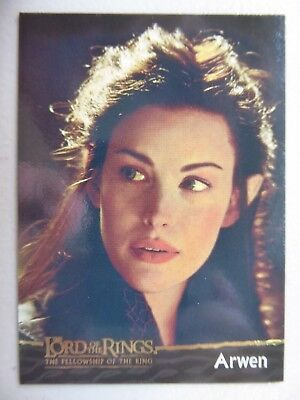TOPPS Card : LOTR The Fellowship Of The Ring  #9 ARWEN