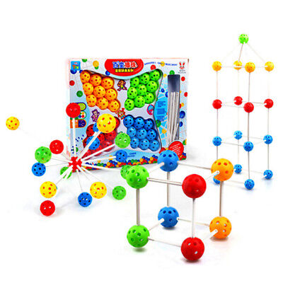 Creative Puzzle Toy Colorful Interchangeable Inserted Bead Toy Children Gift 8C