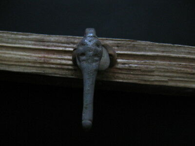 Bronze Age Stylized Snake Talisman Ancient Celtic Bronze Amulet 900-750 B.c