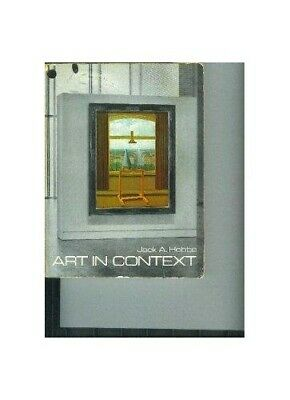 Art in Context by Hobbs, Jack A. Paperback Book The Cheap Fast Free Post