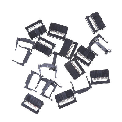 10PCS IDC 10 PIN Female Header  FC-10 2.54 mm pitch Socket Connector  ME