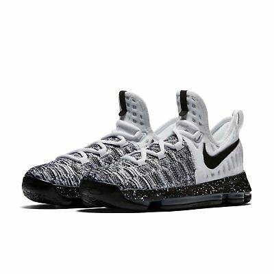 the best attitude 79a53 775ad New Sz 7 Y Youth Nike Zoom KD 9 Oreo 855908-100 GS White Black
