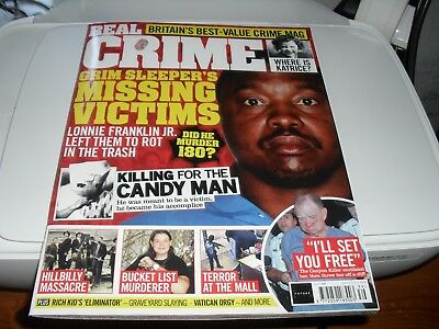 Real Crime Magazine Issue 036  JUNE 2018  NEW FREE UK POSTING