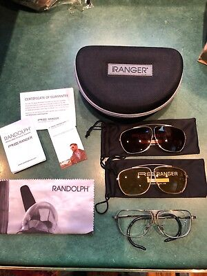 0479355a577 Randolph Engineering Ranger Sporter shooting glasses   sunglasses with 2  clips