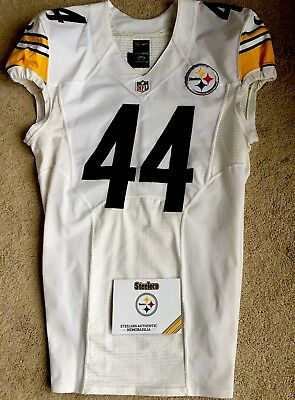 2015 PITTSBURGH STEELERS Game Used Jersey Sz 44 $134.44 | PicClick  for sale