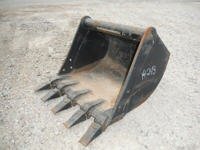 """New Cp Attachments 24"""" Mini Excavator Tooth Bucket!"""