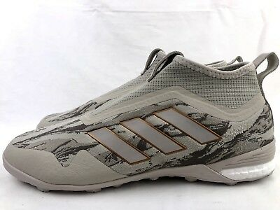 new product e4bbd 391a1 Adidas PogBoom Pogba ACE 17+ TR Primeknit Mens Soccer Turf Shoes Size 10  CM7915
