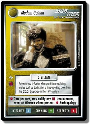 Star Trek CCG QC Q-Continuum Madam Guinan
