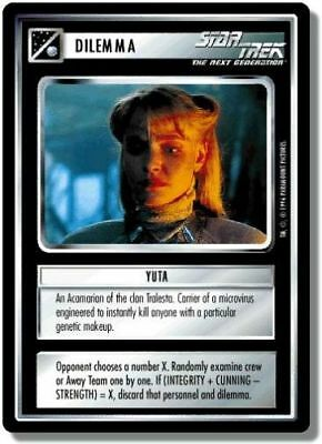 Star Trek CCG QC Q-Continuum Yuta
