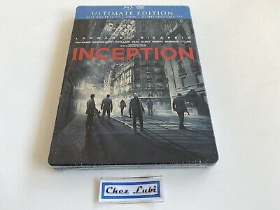 Inception - Ultimate Edition Steelbook - Film - Bluray - FR/EN/ITA/GER - Neuf