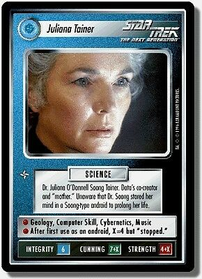Star Trek CCG QC Q-Continuum Juliana Tainer