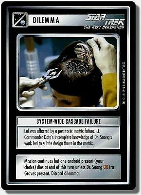 Star Trek CCG QC Q-Continuum System-Wide Cascade Failure