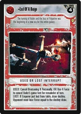 Star Wars CCG Tatooine End of a Reign