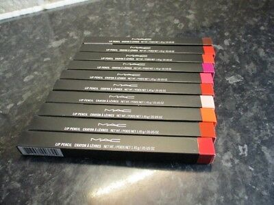 MAC Lip Pencil 11 Shades Lip Liner / Smolder Eye Kohl, Eye Liner Pencil, BNIB UK