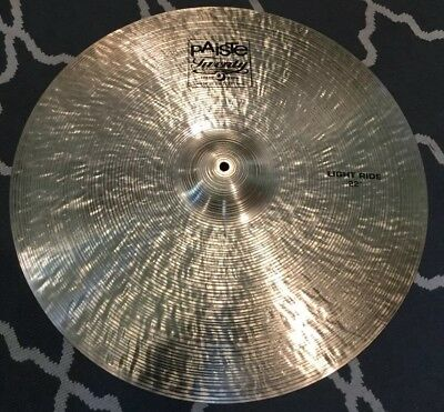 8b4a53f89fc7 PAISTE TWENTY 22 in. Light Ride Cymbal -  275.00