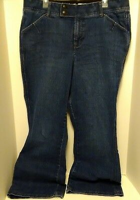 "Lane Bryant Women's Size 18 Avg. Flare Jeans~Inseam 31"" Tighter Tummy Technology"