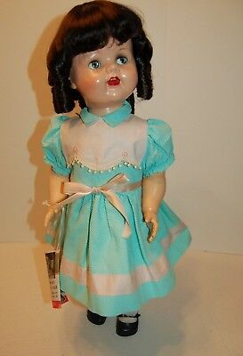 "Vintage 24"" 1950's Saucy Walker in original clothes shoes socks and her tag."