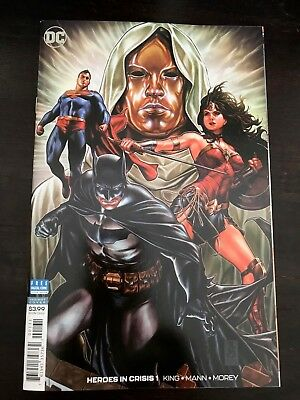 Heroes in Crisis #1 1:100 Brooks variant DC 2018 NM 9.4 Unread