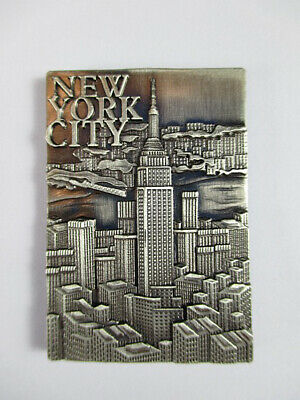 New York City Metall Magnet Empire State Building  Souvenir USA .