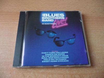CD The Blues Brothers Band - LIVE! in Montreaux - 1990