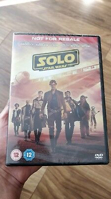 Solo A Star Wars Story DVD 2018 New Release Fast & Free Same Day Dispatch