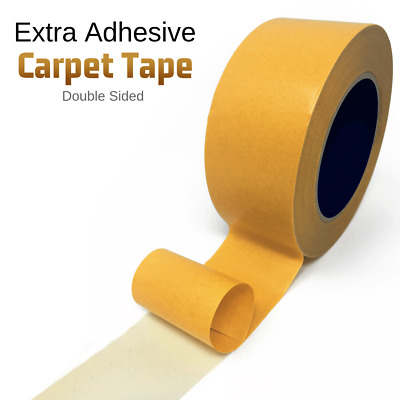 25M Double Side Extra Strong Adhesive Sticky Multipurpose Carpet Tape Heavy Duty