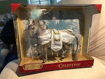 Breyer Celestine 2018 Christmas Holiday Lipizzaner - New In Box!!