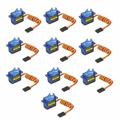 10pcs 9g Mini Micro Servo for RC SG90 for RC 250 450 Helicopter Plane Car DXW90
