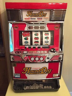 Pachislo Skill Stop Japanese Slot Machine Hound Dog Working