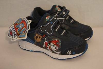 Paw Patrol Toddler Boys Tennis Shoes Size 6 Sneakers Police Fireman Dog Cop New
