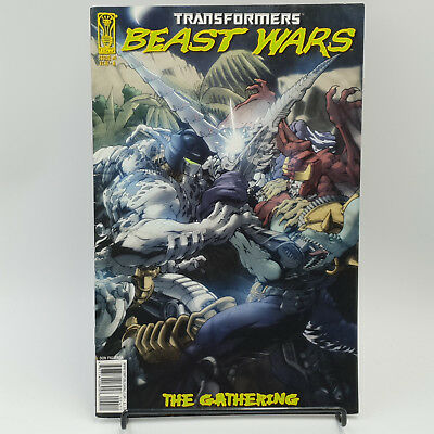 Transformers #4 Beast Wars The Gathering IDW Comics Cover A