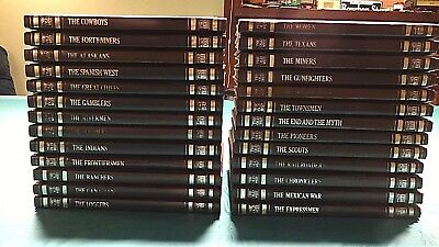 Time Life The Old West Series 26 Book Set + Master Index