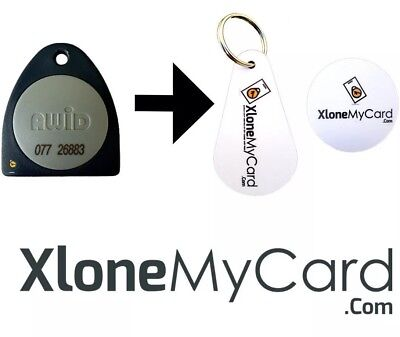 Copy / Clone / Duplicate Awid Fob or Key Card (26 bit format only)