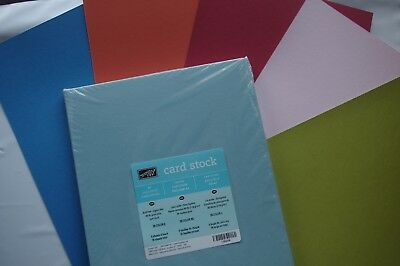 Stampin Up A4 Card Stock In Color - 36 Sheets BNIP